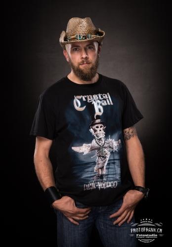 """T-Shirt """"Deja-Voodoo"""" Cover"""