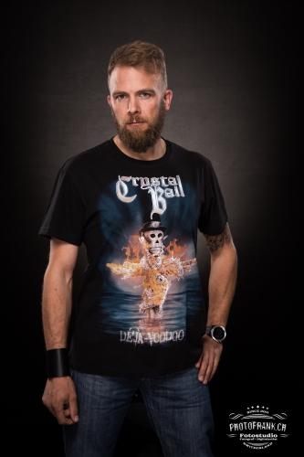 "T-Shirt ""Deja-Voodoo"" Flames XXXL"