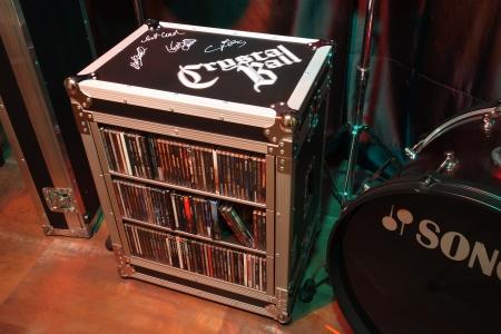 CD-Rack Crystal Ball Edition, Einzelstück