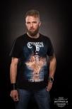 """T-Shirt """"Deja-Voodoo"""" Flames S"""