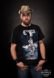 """T-Shirt """"Deja-Voodoo"""" Cover S"""